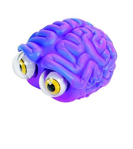Warm Fuzzy Toys Poppin' Peeper Brain Fidget Toy 3 Inches