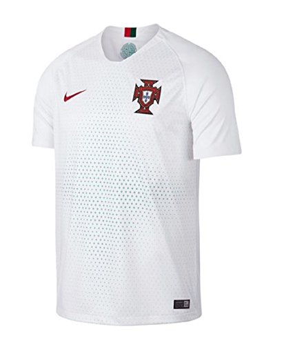 Nike Jungen Portugal Away WM 2018 Teamtrikot, Weiß, XS