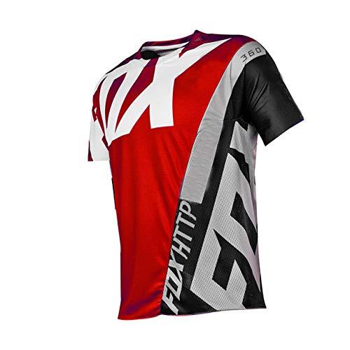 Motocicleta Equipo De Bicicleta De Montaña Jersey De Descenso MTB Fxr Camisa De Locomotora De Bicicleta Cross Country Mountain Http Fox Jersey-XXL