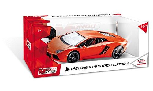 Mondo Motors - 63129 - Véhicule Miniature Radiocommandé - Lamborghini Aventador R/C - Coloris aléatoire