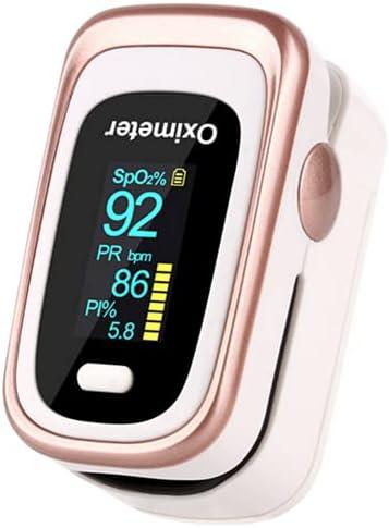 Oxímetro, pulsioxímetro de dedo, oximetro pulsioximetro dedo profesional, saturador oxigeno medidor saturacion con pantalla LED