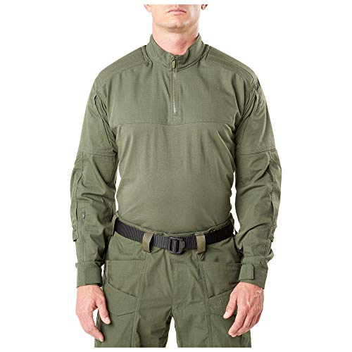 5.11 Tactical Series Chemise XPRT Rapid d'assaut Homme, TDU Green, FR (Taille Fabricant : 2XL)