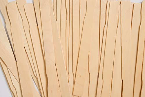 Henry's Best Paint Stir Sticks, Bulk 100 Ct. 12 Inch Birch Wood Craft Paintsticks, Tough Mixer Sticks for Wax, Epoxy, Resin, STEM Projects, Unrivaled Quality Made in USA