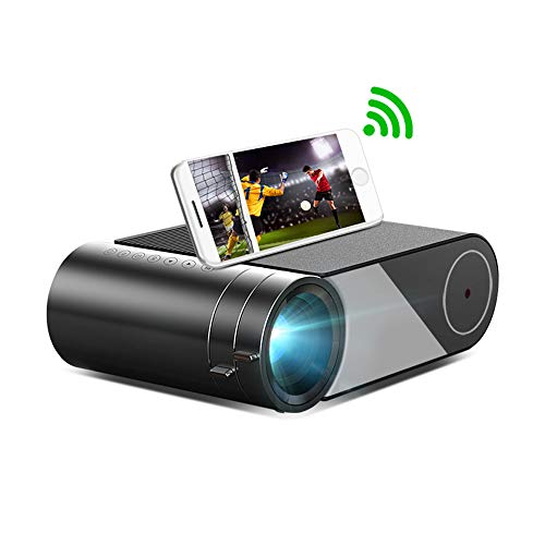 ZXCVBNM K9 Mini 1280x720P Portable Video Beamer LED Projector for 1080P 3D 4K Cinema Support HDMI/AV/VGA/USB/SD