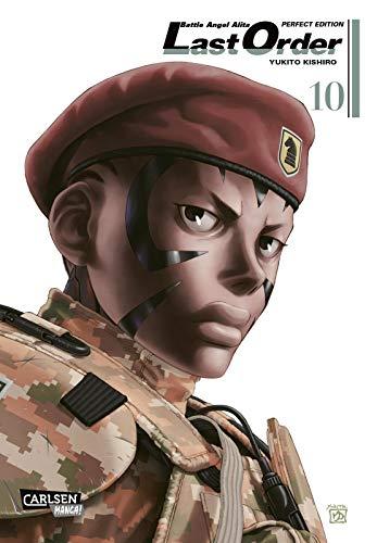Battle Angel Alita - Last Order - Perfect Edition 10: Kultiger Cyberpunk-Action-Manga in hochwertiger Neuausgabe