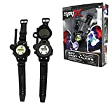 SpyX/Spy Wrist Talkies. 8-1 Multifunctional Walkie Talkies Toy Spy Watch for Kids. Hands-Free Two-Way Radio Spy Gadget Watch for Junior Secret Agent/Ninja Spy. 2-Pack
