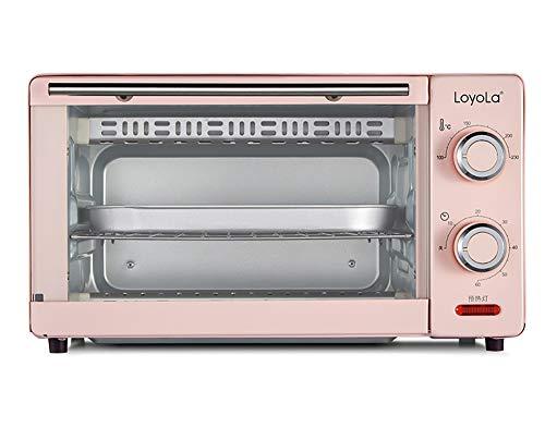 JPKX-M Mini-bakoven, 11 liter, compacte en draagbare oven met grillfunctie, maximale temperatuur 230 graden Celsius, timer 60 minuten.