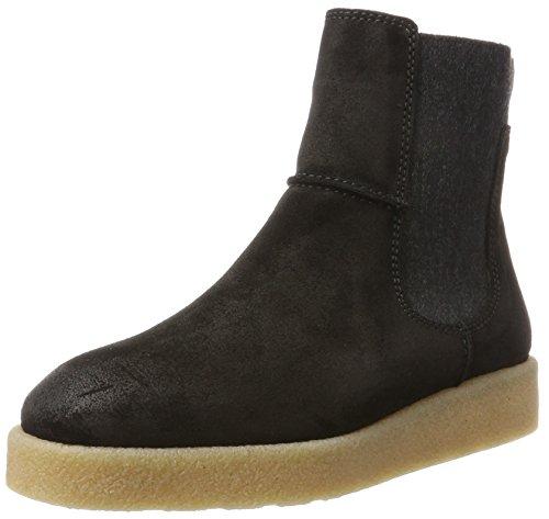 Marc O'Polo Damen Flat Heel 70914295001304 Chelsea Boots, Schwarz (Black), 40 EU