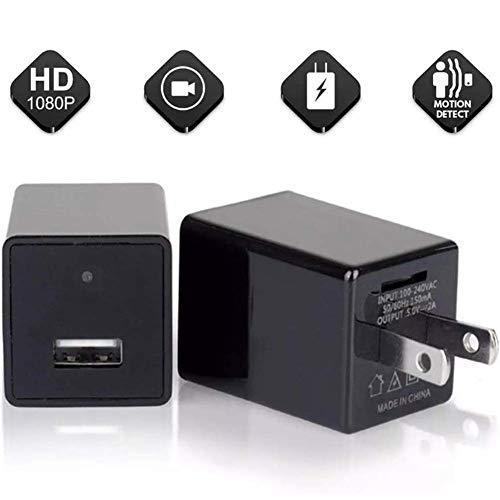 Cámara de vigilancia de seguridad en el hogar 1080P Mini cámara oculta cargador de pared Wifi sistema de seguridad para teléfono inteligente con aplicación Lookcam DUZG