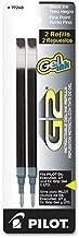Pilot G2 Gel Ink Refill, Fine Point, Black Ink - Pack of 6 (PIL77240-6PACKS)