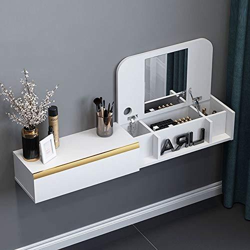 SjYsXm-car cover Wand-Schminktisch Computertisch mit Schublade Wandregal Schwimmendes Regal...