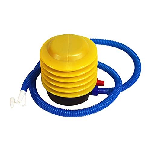 Zwbfu Bomba de aire de pie portátil con manguera, bomba de aire de plástico de ahorro de trabajo para deportes, colchón, bote hinchable, pelota de gimnasia, globo, flotador, juguete de piscina