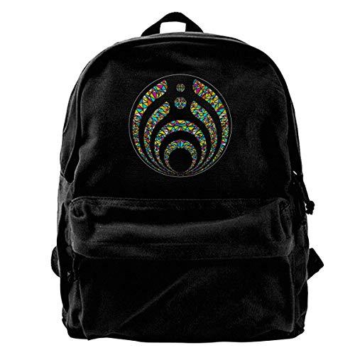 Canvas Backpack Bass-ne-ctar Warmth Rucksack Gym Hiking Laptop Shoulder Bag Daypack For Men Women