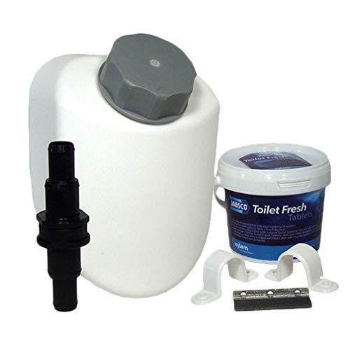 BTK jabsco Toilet Fresh System–Limpia y Limpia EL Sistema WC–Barco Caravana
