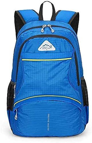 Nouveau Foldable de plein air sac à dos imperméable femmes Hommes Unisex Leisure sacs Sport Hiking sac à dossack voyage sac à doss 29x14x56cm 4 (en Plus)