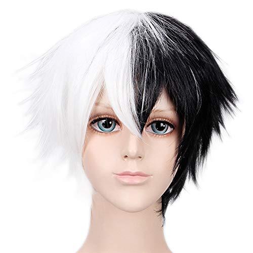 ALTcompluser Anime Danganronpa V3 Monokuma Cosplay Wig Perücke, Zubehör für Party Merchandise