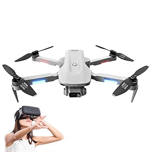 ZYUN Mini Drone, Quadricottero RC Pieghevole con Videocamera HD 4K, Controllo dei Gesti, Volo di Traiettoria, Cerchio Vola, modalità Senza Testa, Bambini O Principianti