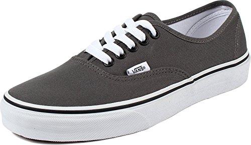 Vans Authentic Unisex Erwachsene Sneaker, Grau - Zinnschwarz - Größe: 38 EU
