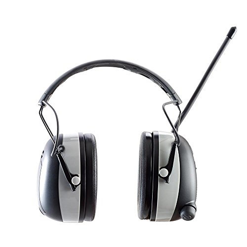Worktunes 3M Bluetooth AM FM MP3 Radio Headphones - Wireless Hearing Protector
