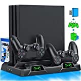 PS4 Stand Cooling Fan for PS4 Slim / PS4 Pro /...