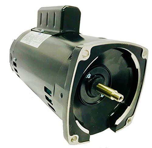 GW YYN5652-L7 1 HP, 3450RPM, 1.4 Service Factor, 56Y Frame, 115V/208-230V, Square Flange Pool Pump Motor