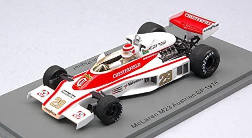 Spark Model Modelo A Escala Compatible con MC Laren M23 Nelson Piquet 1978 N.29 Austrian GP 1:43 S5747