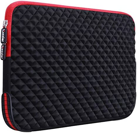 iCozzier 13 13 3 Inch Diamond Foam Laptop Sleeve with Coner Silicone Pad Shock Water Resistant product image