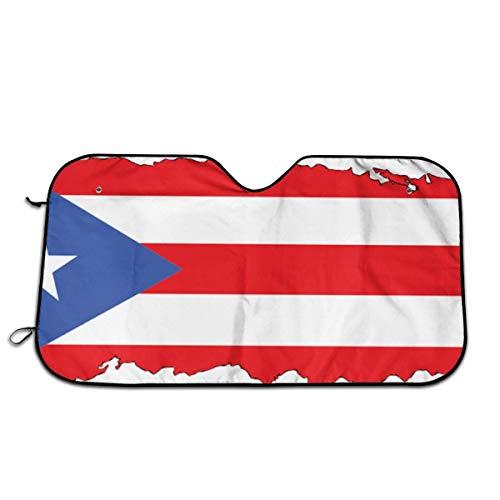 WCHAO Puerto Rico Mission Trip Coche Parabrisas Sombrilla Sombrilla para Sol y Nieve