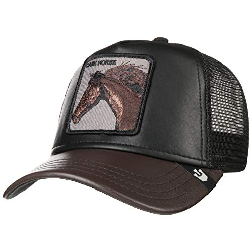 Goorin Brothers Animal Farm Snap Back Trucker Hat Black Your Majesty One Size -  101-0471