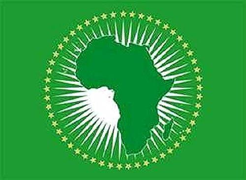 U24Drapeau du drapeau Union Africaine Bateau haute qualité pour 120x 180cm