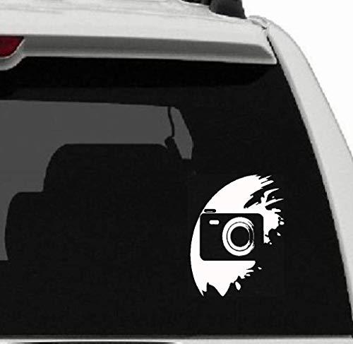 11.8Cm * 13Cm Fotostudio Innenkamera-Schattenbild-Auto-Aufkleber für Autolaptop-Fensteraufkleber