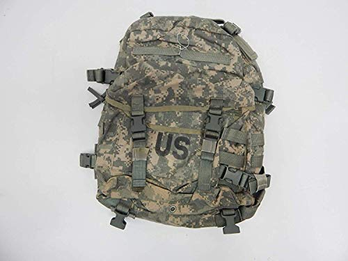 Military Outdoor Clothing Molle Assault Previously Issued ACU G.I. Molle Assault Pack, Camouflage (Pack of 1)