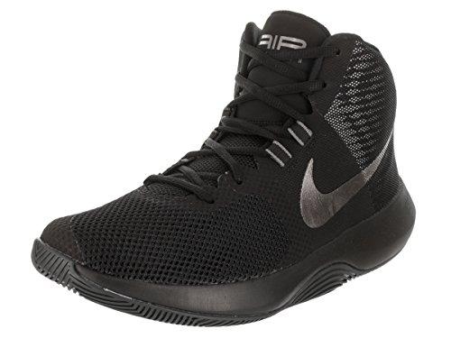 Nike Mens AIR Precision NBK Black MTLC Dark Grey White Size 9