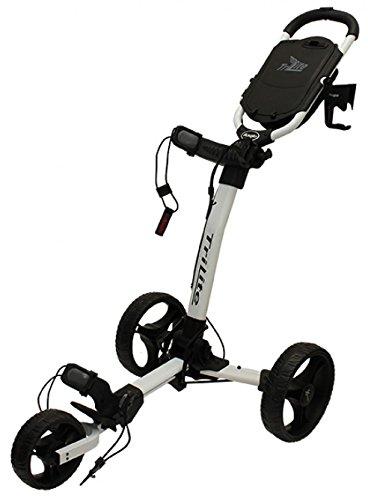 Axglo - Golftrolley TriLite 3-Räder zum Schieben + 2 Kostenlose Accessoires