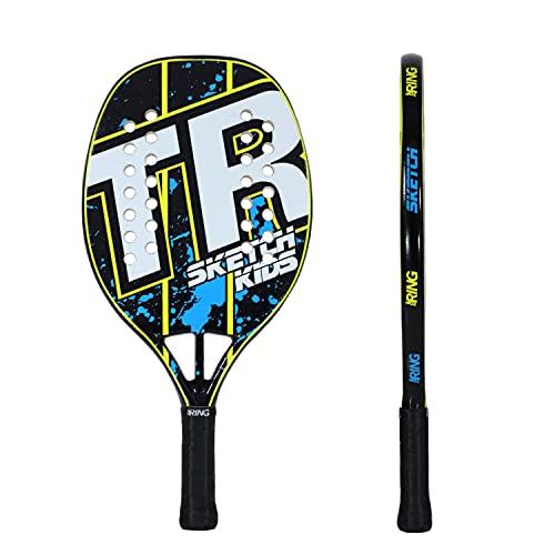 Top Ring Rachetta Beach Tennis Sketch Kids per bambino - 100% Fiberglass - Spessore 22 mm. - Lunghezza: 47 cm.