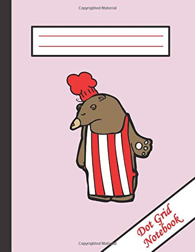 Dot Grid Notebook: Funny Famous Social Media Actor/Masterchef | Large 120 Pages of Dotted Paper 8.5 X 11 Letter Size | Bullet Graphing Pad Journal For Drawing & Note Taking (Pink)