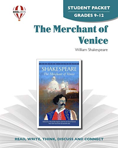 The Merchant of Venice - Student Packet by Novel Units