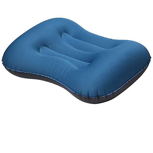 AODOOR Aufblasbares Kissen, Camping Luftkissen Aufblasbares Camping Kissen Aufblasbares Kopfkissen Luft-Kissen für Camping, Garten, Strand, Urlaubsreise,Outdoor, Büro, Reise
