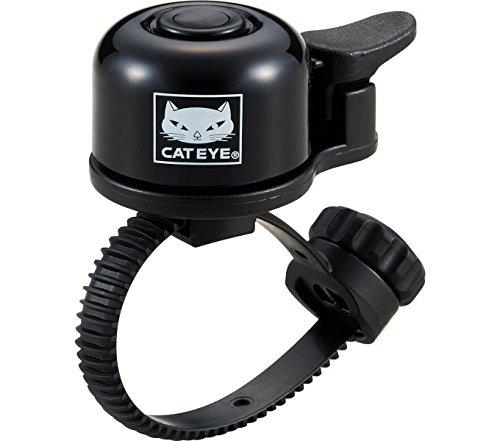 Cateye Oh-1400 Fahrradklingel, Schwarz, Einheitsgröße