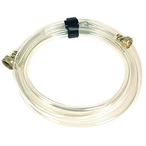 Water Hose, Clear, 25 ft, PVC