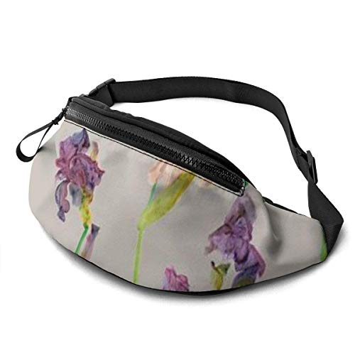 XCNGG Bolso de la Cintura del Ocio Bolso Que acampa Bolso del montañismo Waist Pack Bag for Men&Women, Horse Painting Utility Hip Pack Bag with Adjustable Strap for Workout Traveling Casual Running