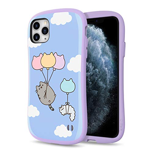 iFace x Pusheen The Cat First Class Series iPhone 11 Pro Max Case – Cute Dual Layer [TPU and Polycarbonate] Hybrid Shockproof Protective Cover [Drop Tested] - Pusheen (Blue Sky Balloon)
