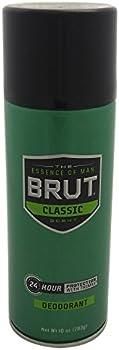 2-Pack Brut Deodorant Spray Classic Scent, 10 oz