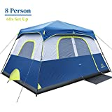Best Cabin Tents - OT QOMOTOP Waterproof Camping Tent, 8 Person 60-Second Review