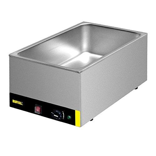 Buffalo Bain Marie kookgerei zonder pannen, commerciële elektrische warmer