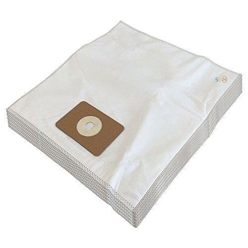 MohMus 10 Microfibra Bolsas de Aspiradora para NUMATIC Harry, NVH-180, James JVP180, PSP-200A, HRP-207 Henry Plus Parquet, NVQ200-22, NRV 200-22, RSV204P