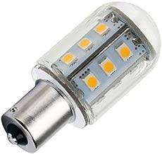 DengTA 1156 1141 BA15s Bayonet LED Bulbs Warm White 12V Low Voltage for Landscape Lighting and Camper RV Boat Lights (1 Pack 2-Watt, Warm White)