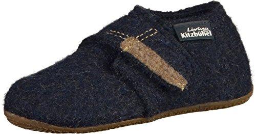 Living Kitzbuhel Babyklettschuh Krabbel- & Hausschuhe, Blau (Nachtblau 590), 19 EU