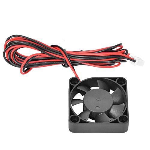 Ventilador de disipador de calor de 2 piezas, ventilador de refrigeración de placa base DC24V 1,4 W 0,06 A, ventilador de refrigeración de disipador de calor directo de plástico para ENDER3 Ender3 pro