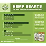 Manitoba Harvest Hemp Hearts Raw Shelled Hemp Seeds, Natural, 1 Pound - Packaging May Vary 5